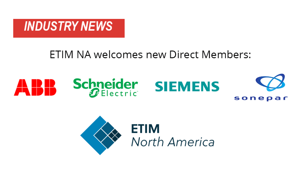 ETIM North America Welcomes New Members